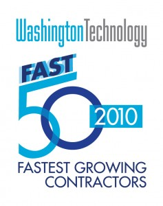 Washington Technology 50 Fastest Growing Contractors